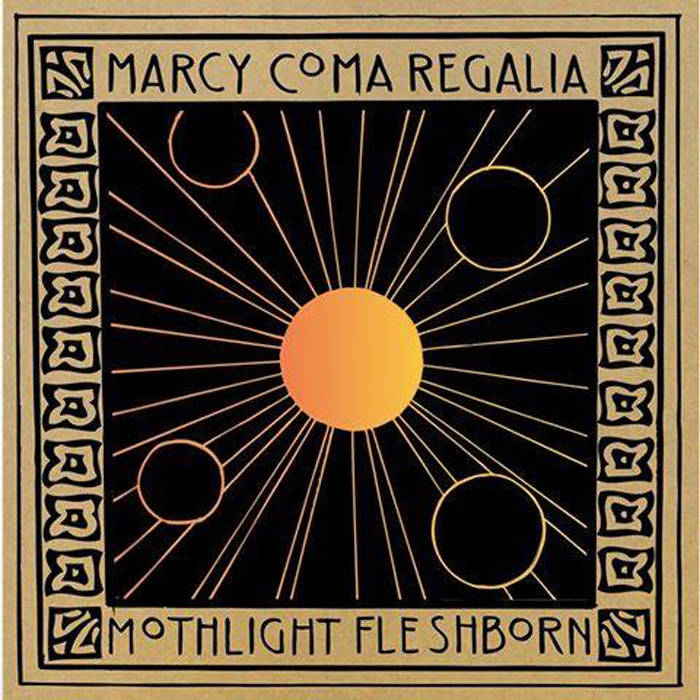 Split with Marcy, Coma Regalia, and Mothlight cover art