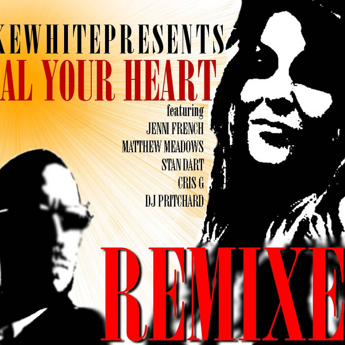 HEAL YOUR HEART - THE REMIXES cover art