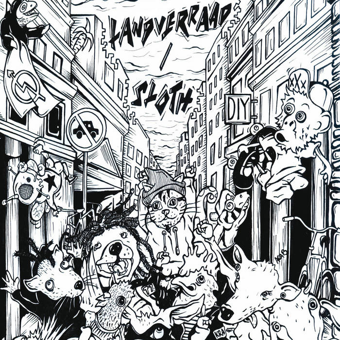 Landverraad + Sloth cover art