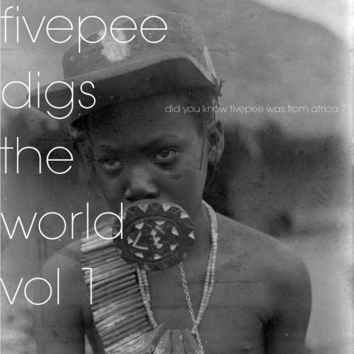fivepee digs the world vol 1: did you know fivepee was from africa ? cover art