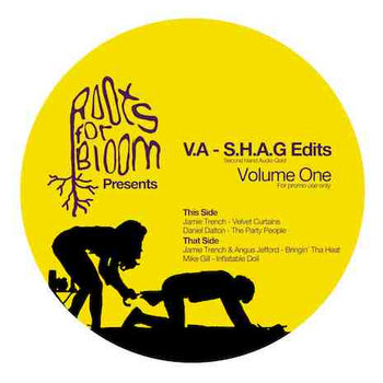 RFBR003 - Various Artists - SHAG Edits Vol 1 cover art