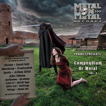 """VV.AA. """"Compendium Of Metal Vol. 5"""" cover art"""