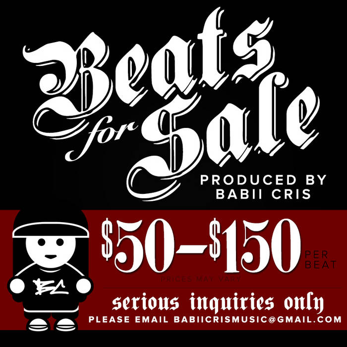 Beats for Sale Vol. 1 Produced by Babii Cris cover art