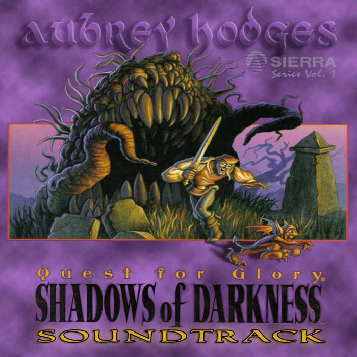 Quest for Glory - Shadows of Darkness: Official Soundtrack cover art