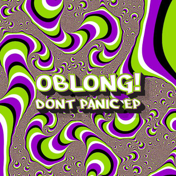 OBLONG!- Don't Panic EP cover art