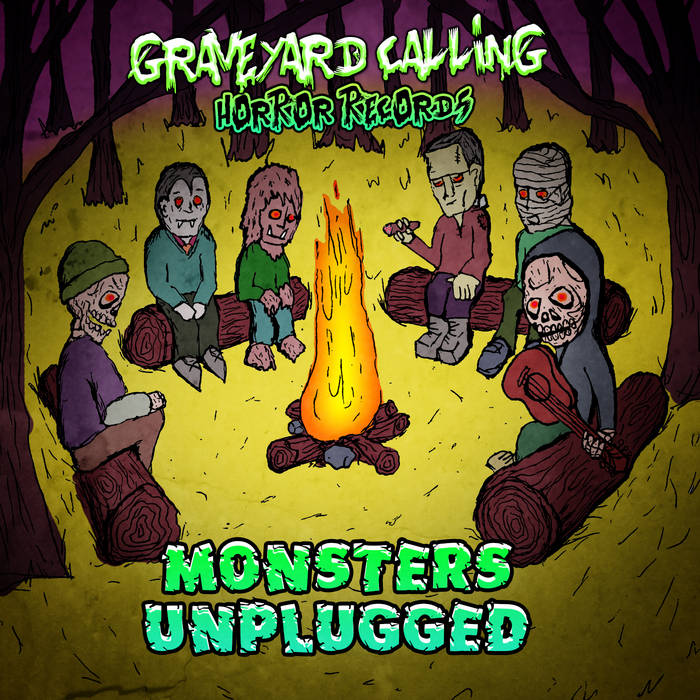Monsters Unplugged cover art