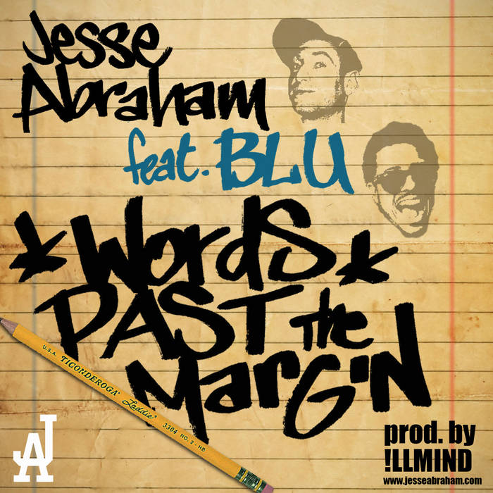 Words Past The Margin ft. Blu (Single) cover art