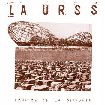Sonidos de un derrumbe LP cover art