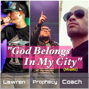 GOD BELONGS IN MY CITY cover art