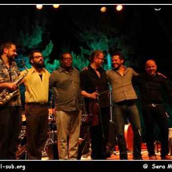 Ingebrigt Håker Flaten Chicago Sextet live at Jazz Em Agosto, Lisbon, August 2012 cover art