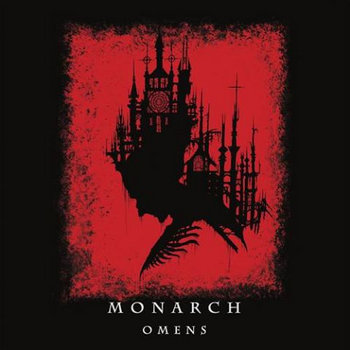 MONARCH omens LP cover art