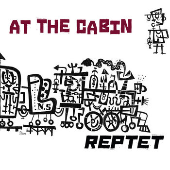 AT THE CABIN cover art