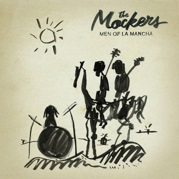 Men of La Mancha (plus Xmas single) cover art