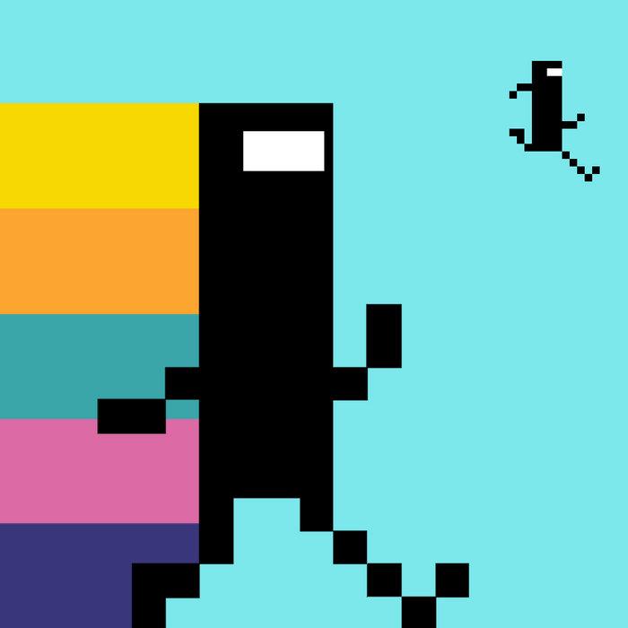 BIT.TRIP RUNNER Original Soundtrack cover art