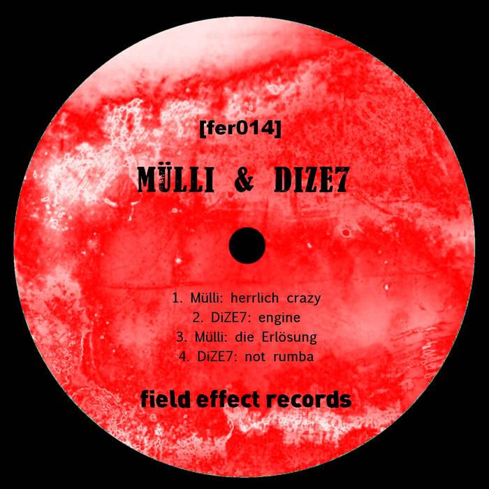Mülli & DiZE7 - hmpf EP cover art