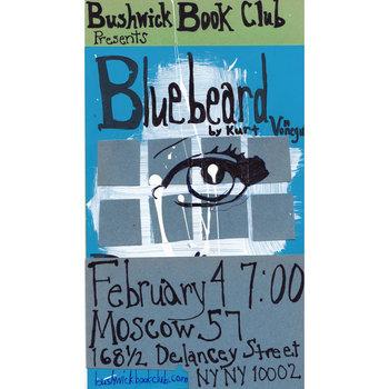 Bushwick Book Club presents Kurt Vonnegut's BLUEBEARD cover art