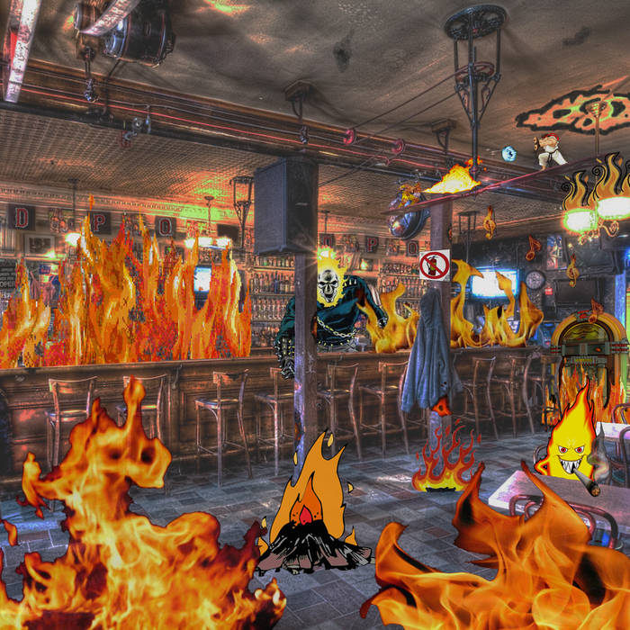 Fire In A Dive Bar cover art
