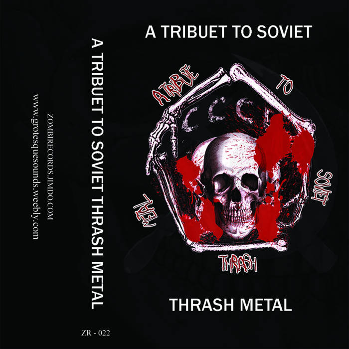 Tribute To Soviet Thrash Metal (2014)(Compilation) cover art