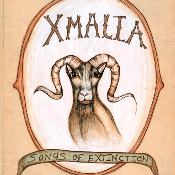 XMALIA, Songs of Extinction cover art