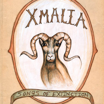 XMALIA, Songs of Extinction cover art