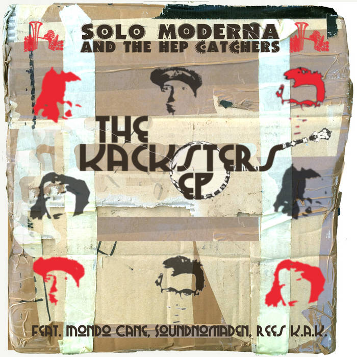 SMR004 The Kacksters EP cover art
