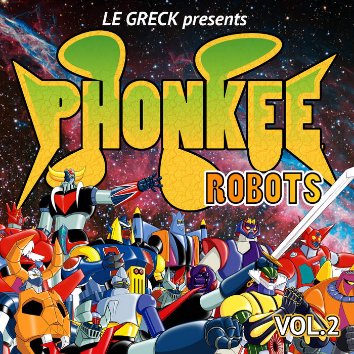PHONKEE ROBOTS VOL.2 cover art