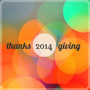 Thanksgiving 2014 cover art