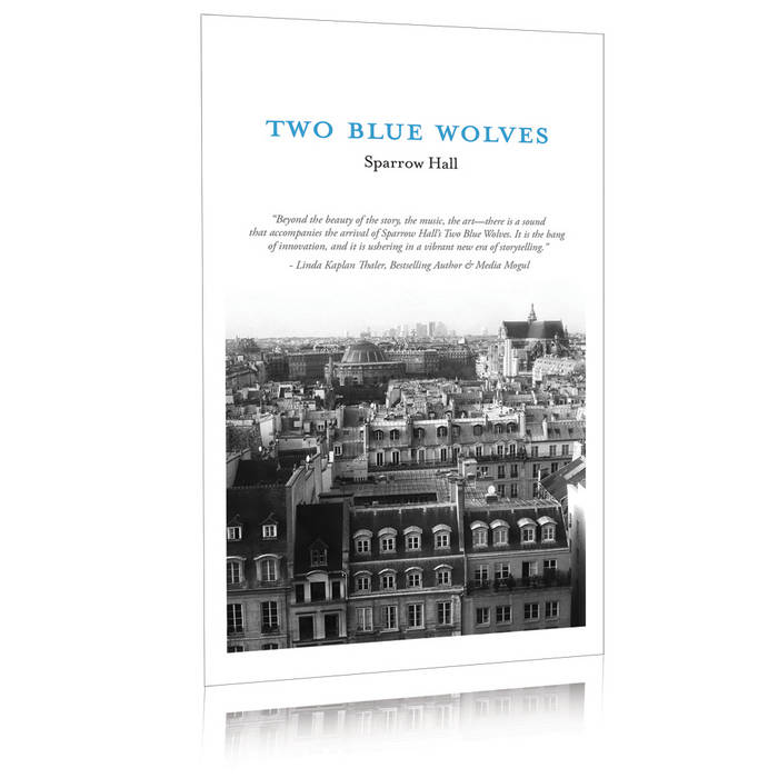 Two Blue Wolves - Immersive Story w/ E​-​Book, Audiobook, Soundtrack, Printable Artwork and More cover art