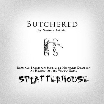 Splatterhouse Remixes: Butchered cover art