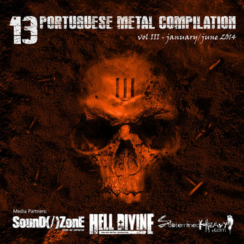 13 Portuguese Metal Compilation Vol. III cover art