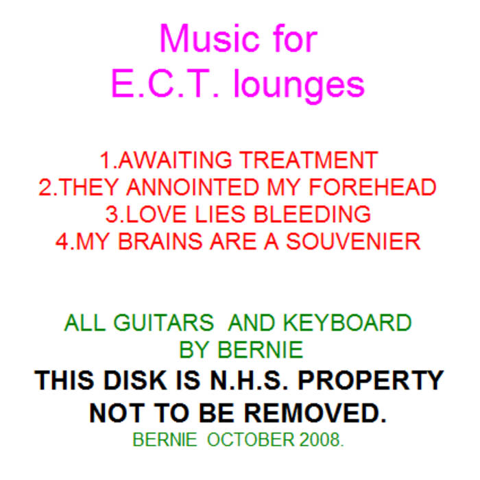Music for E.C.T. Lounges cover art