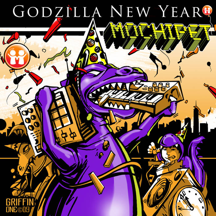 Mochipet Godzilla New Year Single cover art