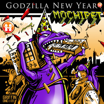 Mochipet Godzilla New Year Single (Free Download) cover art