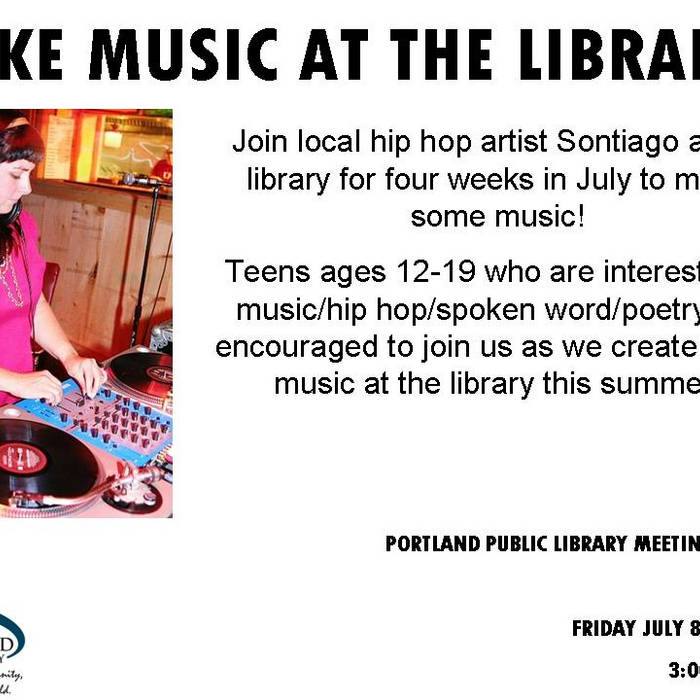 MAKE MUSIC AT THE LIBRARY 2011 cover art