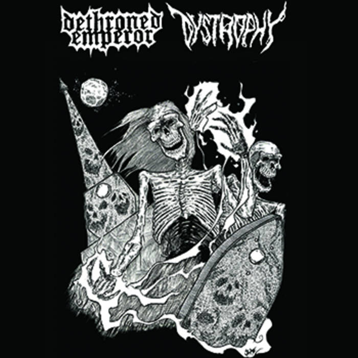 New Brunswick Death Metal Alliance: Dystrophy Side cover art