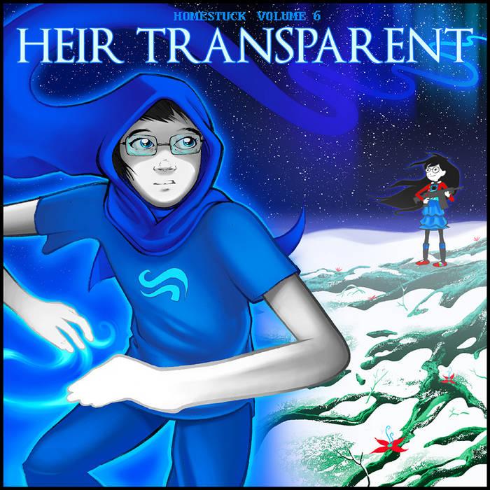 Homestuck Vol. 6: Heir Transparent cover art