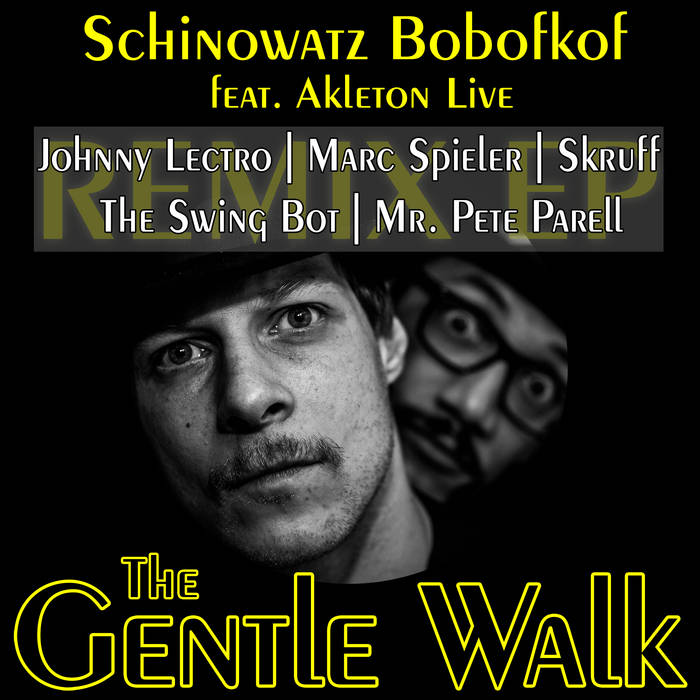 The Gentle Walk Remix EP cover art