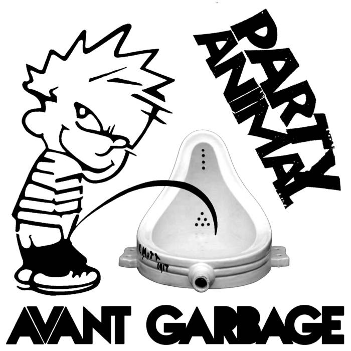 AVANT GARBAGE cover art