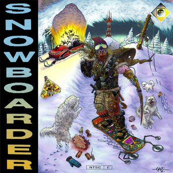Snowboarder cover art