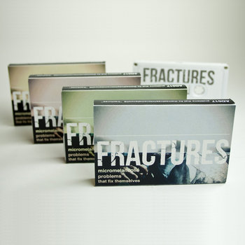AD017 Problems That Fix Themselves/micromelancolié 'Fractures' Split cover art