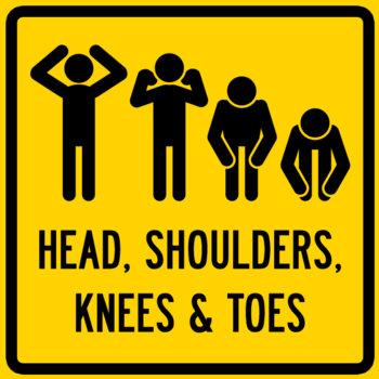 HEAD, SHOULDERS, KNEES & TOES EP cover art