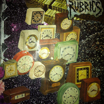 "RUBRICS/ABOLITIONIST split 7"" cover art"