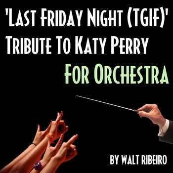 Katy Perry 'Last Friday Night (TGIF)' cover art