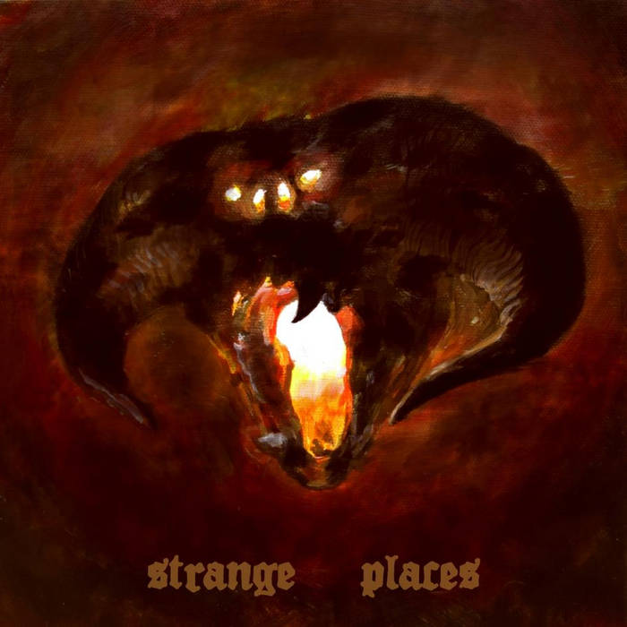 Strange Places cover art