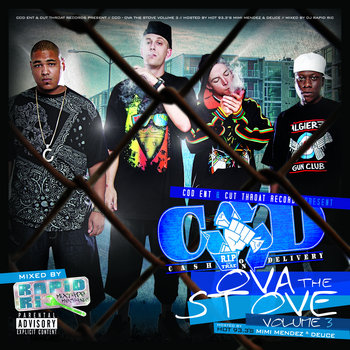 Ova the Stove vol​.​3 cover art