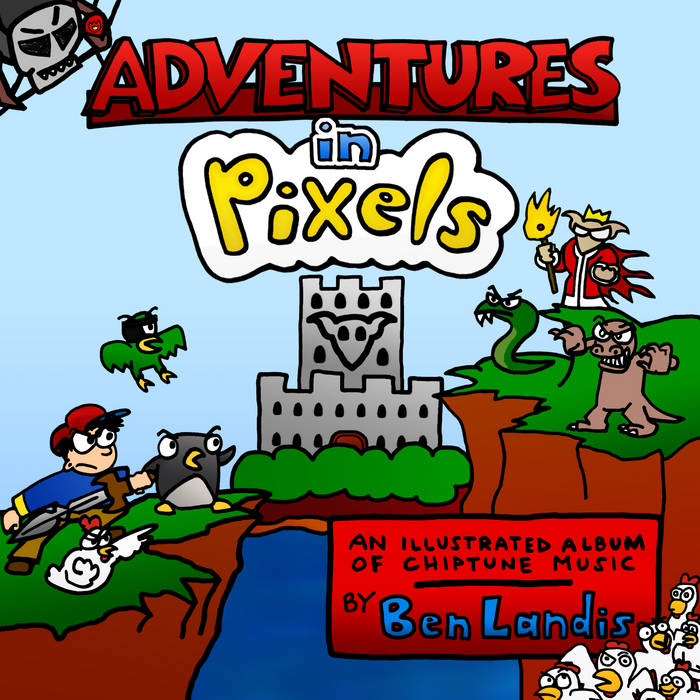 Adventures in Pixels cover art