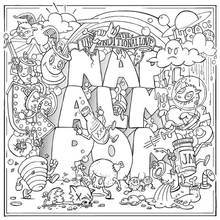 The Unconditional Love Of Napalmpom cover art