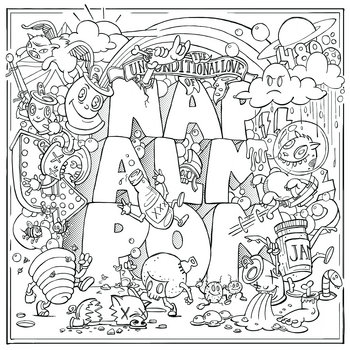 The Unconditional Love Of Napalmpom (LP) cover art