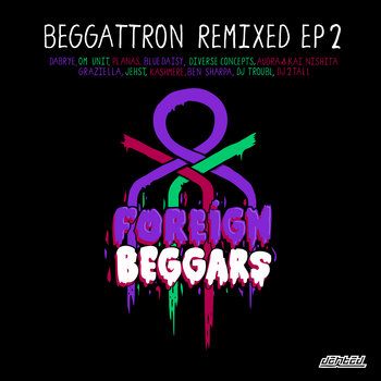 Beggattron Remixed EP 2 cover art