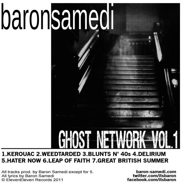Ghost Network Vol.1 cover art